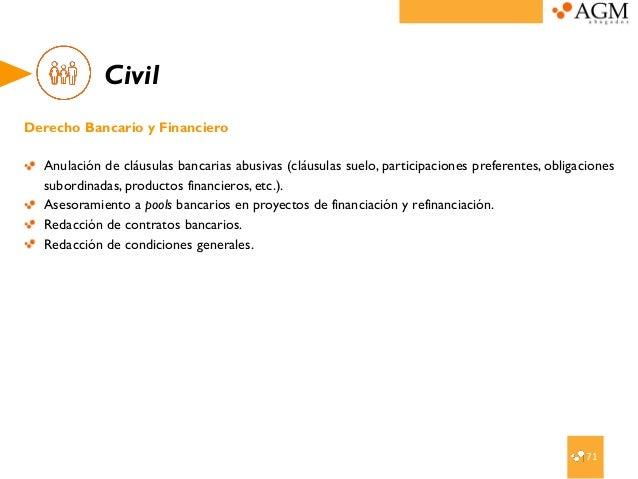 Servicios jur dicos agm abogados for Anulacion clausula suelo
