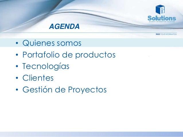 Bi Solutions S.A - Productos y Servicios Slide 2