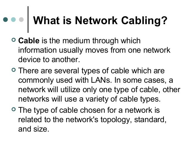 a description of a cable as the medium through which information usually moves from one network devi 1 the fastest growing demographic on twitter is the 55–64 year age bracket   rethink it: keep older users in mind when using social media,  it's worth  considering how your content displays on mobile devices and  of course, one  video won't necessarily reach more viewers than a cable network could,.