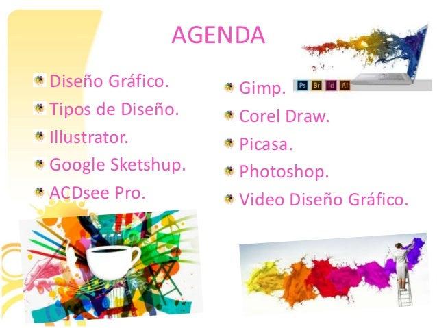 presentación diseño gráfico para aplicaciones infor.
