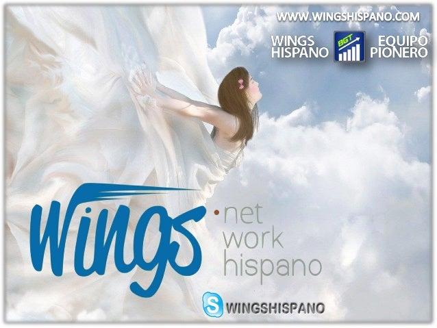 Wings Network en Español 2014 - Equipo Pionero Wings Hispano http://wingshispano.com/ SKYPE: WINGSHISPANO https://www.face...