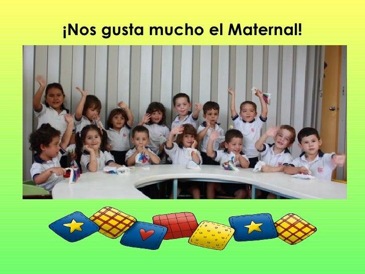 Nuevas actividades en maternal for Adaptacion jardin maternal