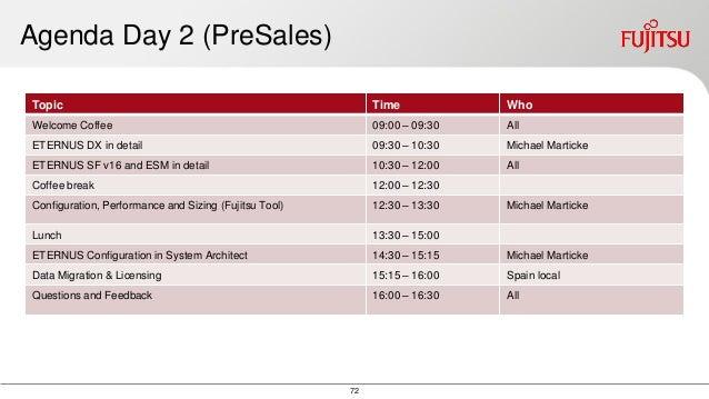 Presentaci 243 N Nuevas Soluciones De Almacenamiento Fujitsu Y