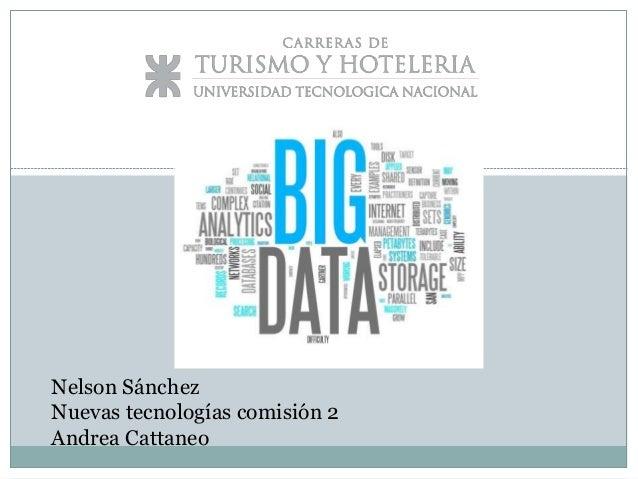 Nelson Sánchez Nuevas tecnologías comisión 2 Andrea Cattaneo