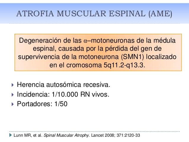 Nuevas terapias en ATROFIA MUSCULAR ESPINAL  Slide 2