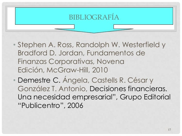 Fundamentos de finanzas corporativas ross westerfield jordan