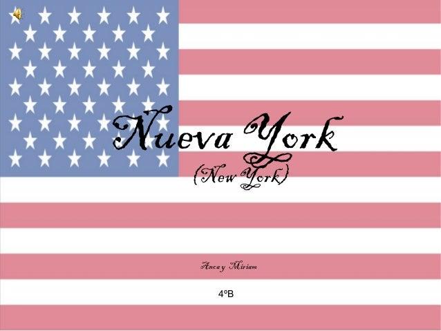 Nueva York(New York)Anca y Miriam4ºB