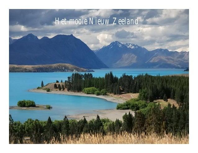 Het mooie Nieuw Zeeland