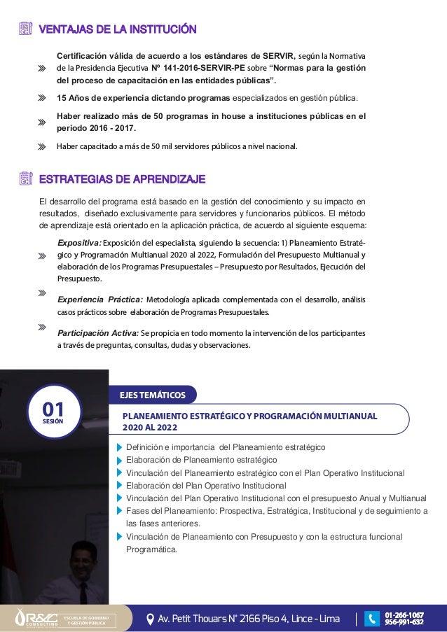 Curso Presencial Nuevo Sistema Nacional De Presupuesto