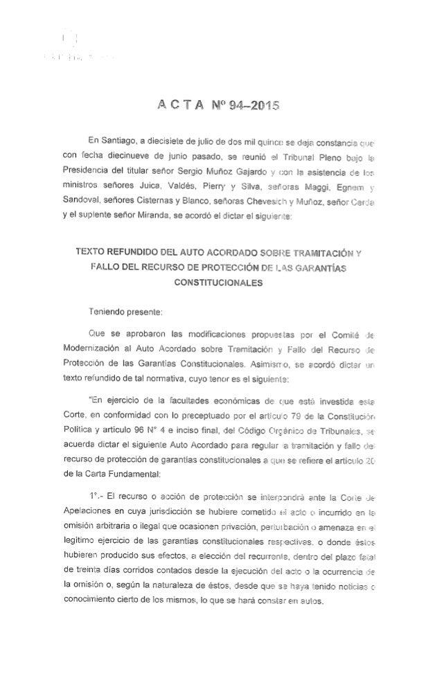 "A G ""ii A N"" Sítwfiüifi  En Santiago,  a diecisiete de julio de dos mil quince se olejei constancia ¿gue con 'fecha diecinue..."