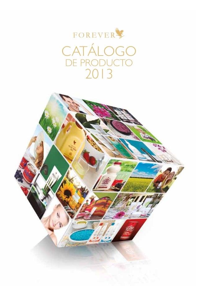 CATÁLOGO DE PRODUCTO 2013