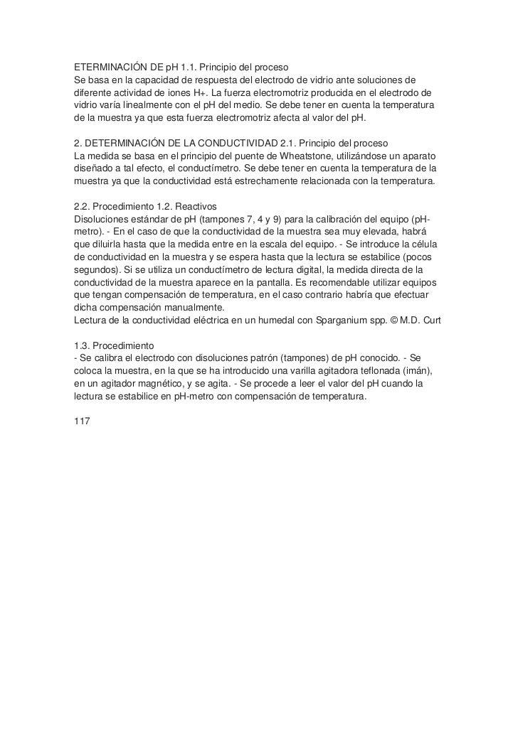 ETERMINACIÓN DE pH 1.1. Principio del procesoSe basa en la capacidad de respuesta del electrodo de vidrio ante soluciones ...
