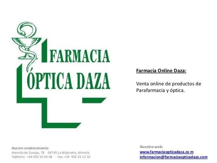 c35f5d40b1b30 Farmacia Online Daza  Venta ...