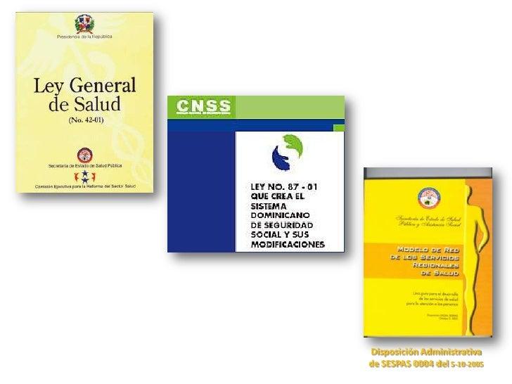 Disposición Administrativa de SESPAS 0004 del 5-10-2005<br />