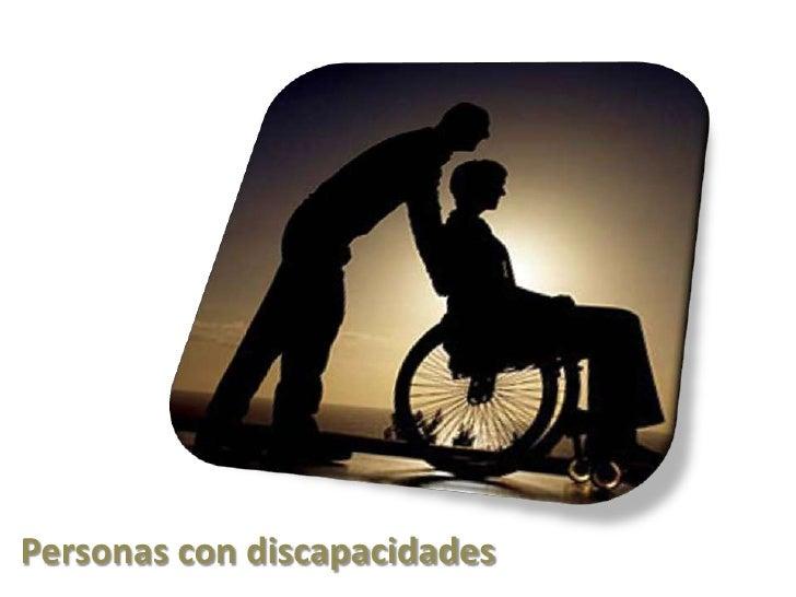 Personas con discapacidades<br />