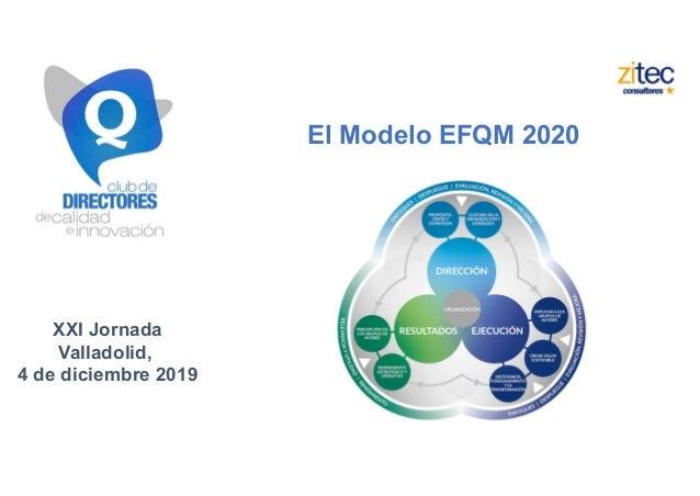 Nuevo modelo efqm 2020