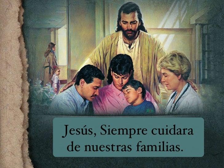 Jesus Tiene El Control Jesús, Siempre cuidara de nuestras familias.