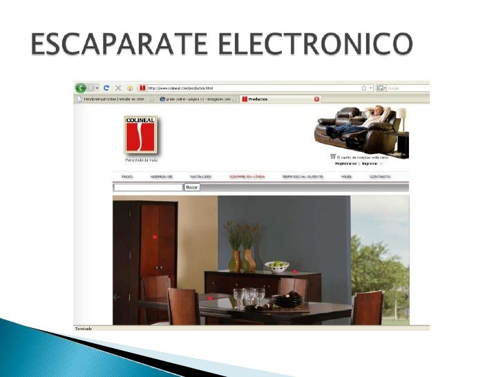 ESCAPARATE ELECTRONICO<br />