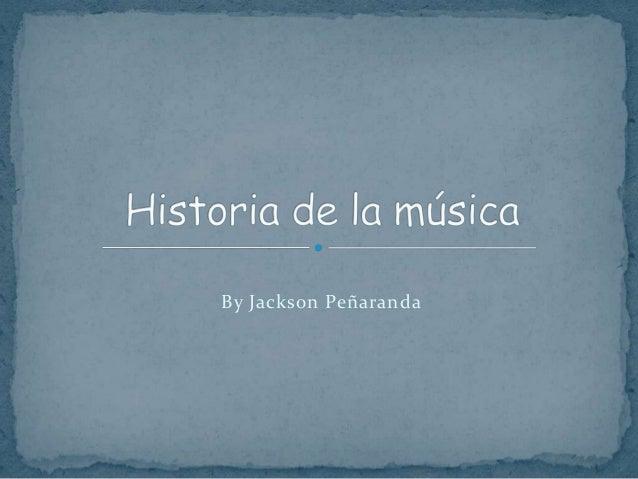 By Jackson Peñaranda