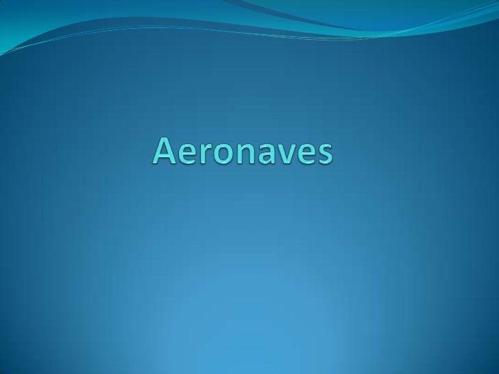 Aeronaves<br />