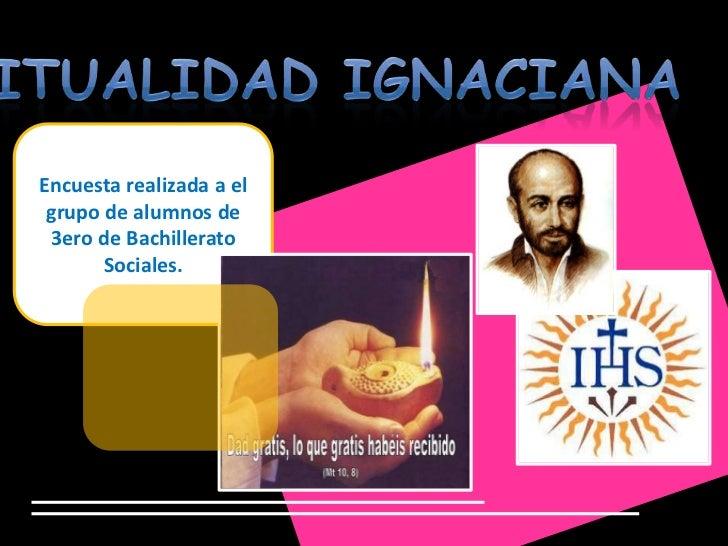Encuesta realizada a el grupo de alumnos de 3ero de Bachillerato       Sociales.