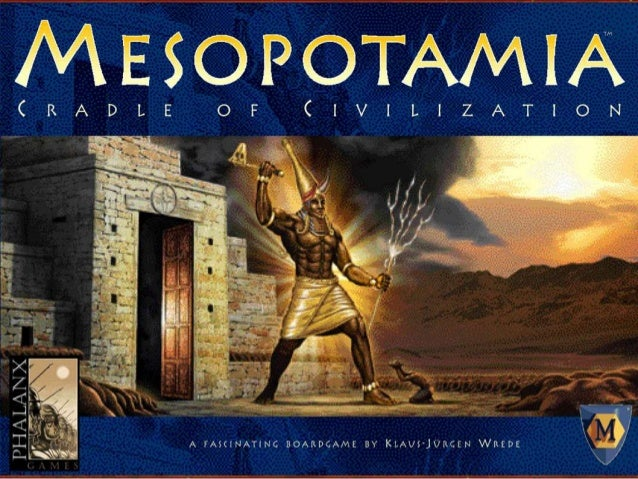 Mesopotamian settlers were