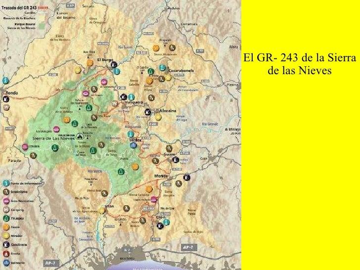 El GR- 243 de la Sierra de las Nieves