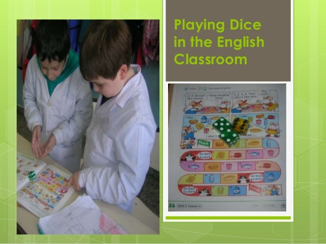 Playing Dice in the English Classroom