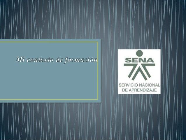 El SENA está encargado de cumplir la función que le corresponde al Estado de  invertir en el desarrollo social y técnico d...