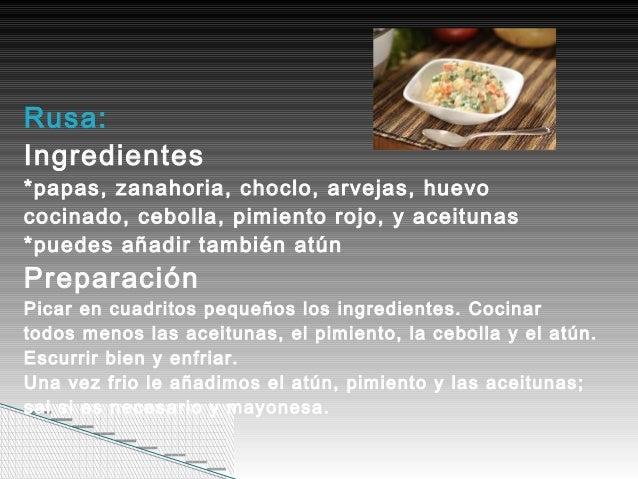 Recetas de comidas faciles de preparar for Resetas para preparar comida