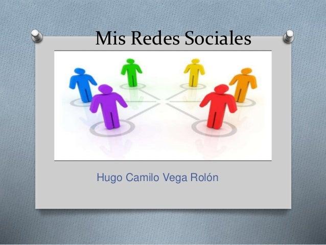 Mis Redes Sociales Hugo Camilo Vega Rolón