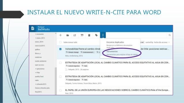 RefWorks Citation Manager