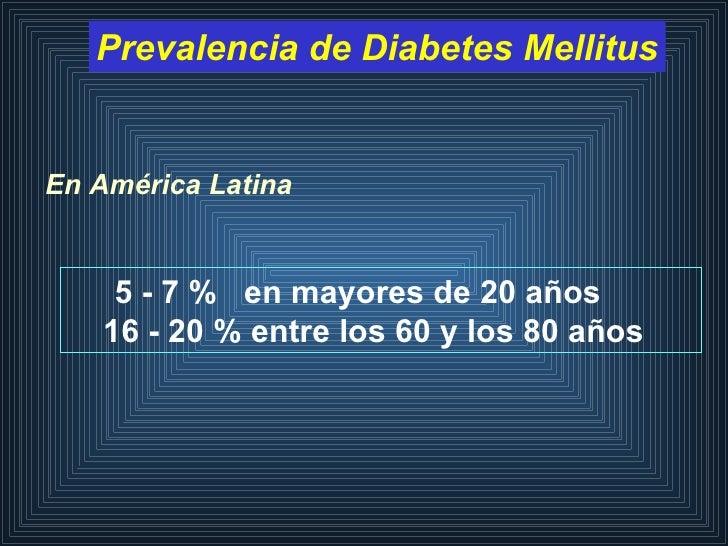 Nuevos Criterios Y Clasificacion De La Diabetes Mellitus