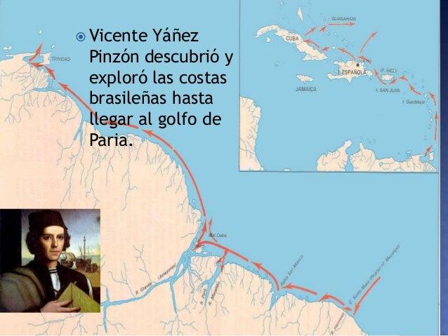 Resultado de imagen de Vicente Yañez Pinzón viaje brasil