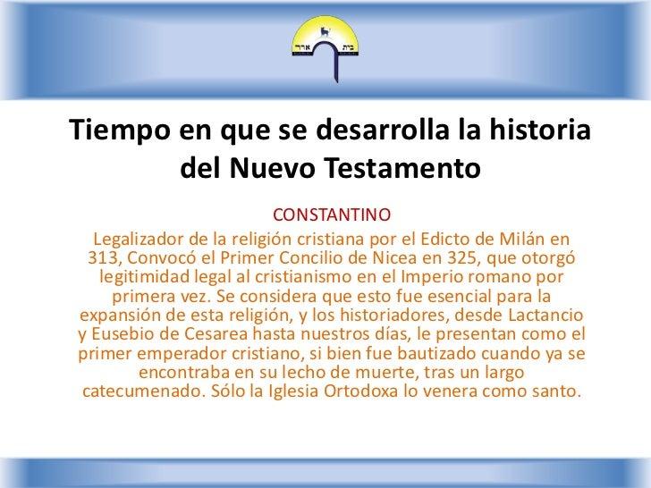 Nuevo Testamento - Lección 2 Slide 3