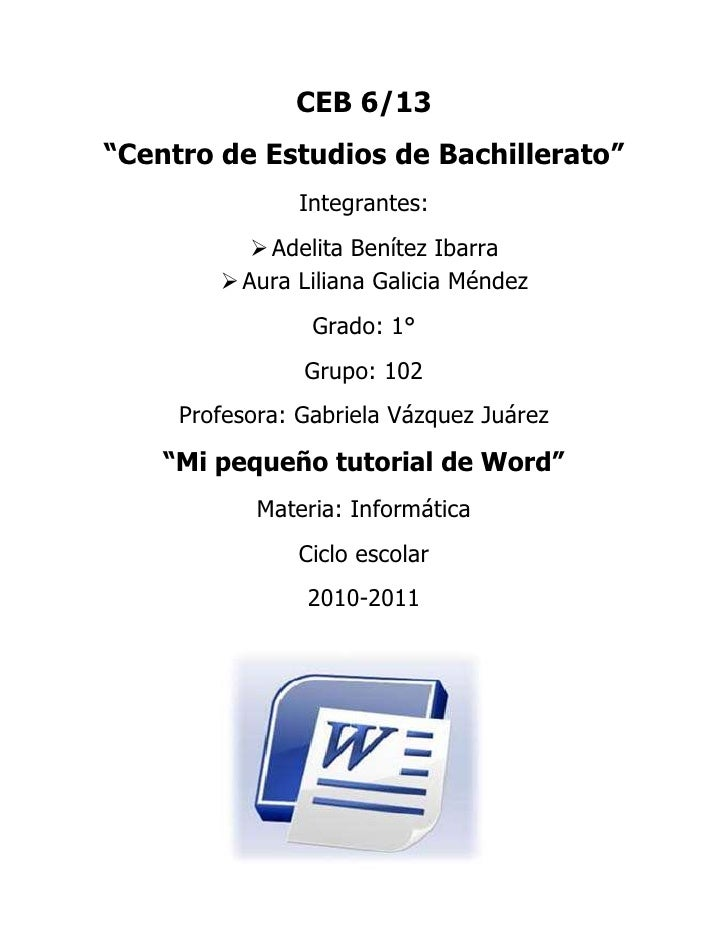 "CEB 6/13<br />""Centro de Estudios de Bachillerato""<br />Integrantes:<br />Adelita Benítez Ibarra<br />Aura Liliana Galicia..."