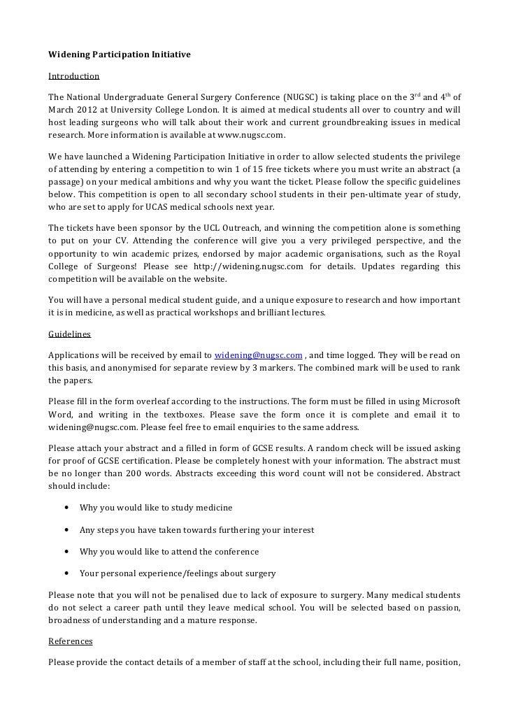 Nugsc 2012 application form