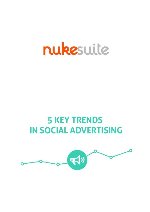 5 KEY TRENDS IN SOCIAL ADVERTISING