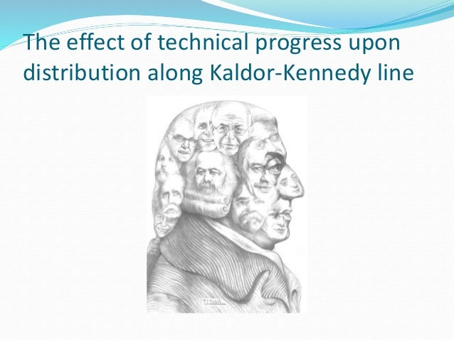 The effect of technical progress upon distribution along Kaldor-Kennedy line