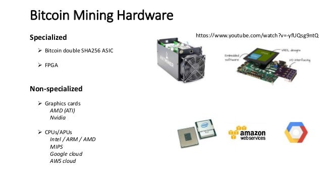 Crypto currency mining science