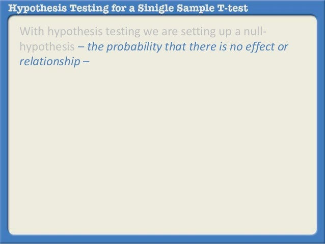 welch two sample t test null hypothesis