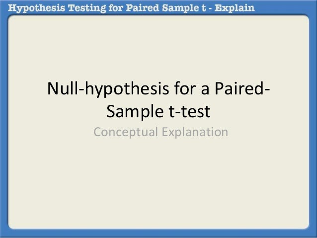 How to run a t-test in spss?