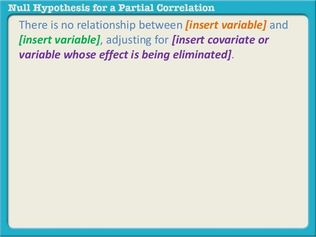 how to write a null hypothesis
