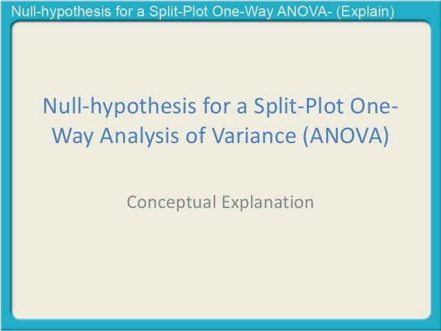 null hypothesis explanation