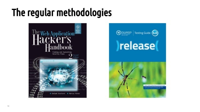 10 The regular methodologies