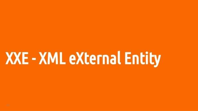 53 XXE - XML eXternal Entity