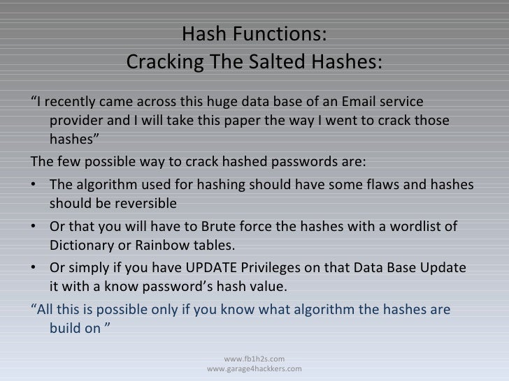 ufd2 hash cracker software