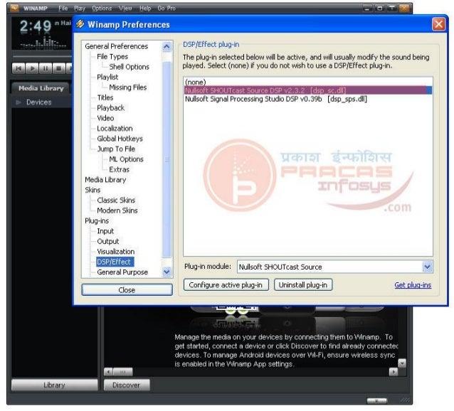 Nullsoft shoutcast setup