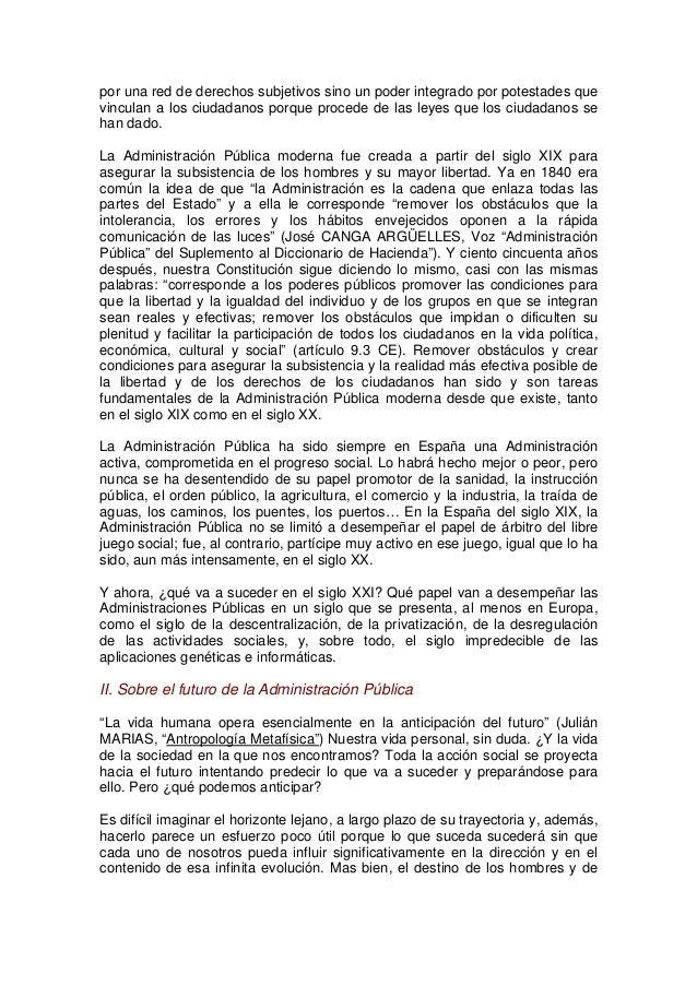 La Administración Pública como Organización. Tendencias s.XXI Slide 3