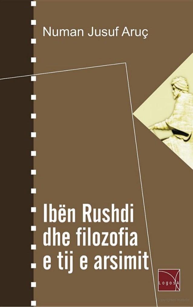 Numan Aruc - Iben Rushdi dhe filozofia e tij e arsimit